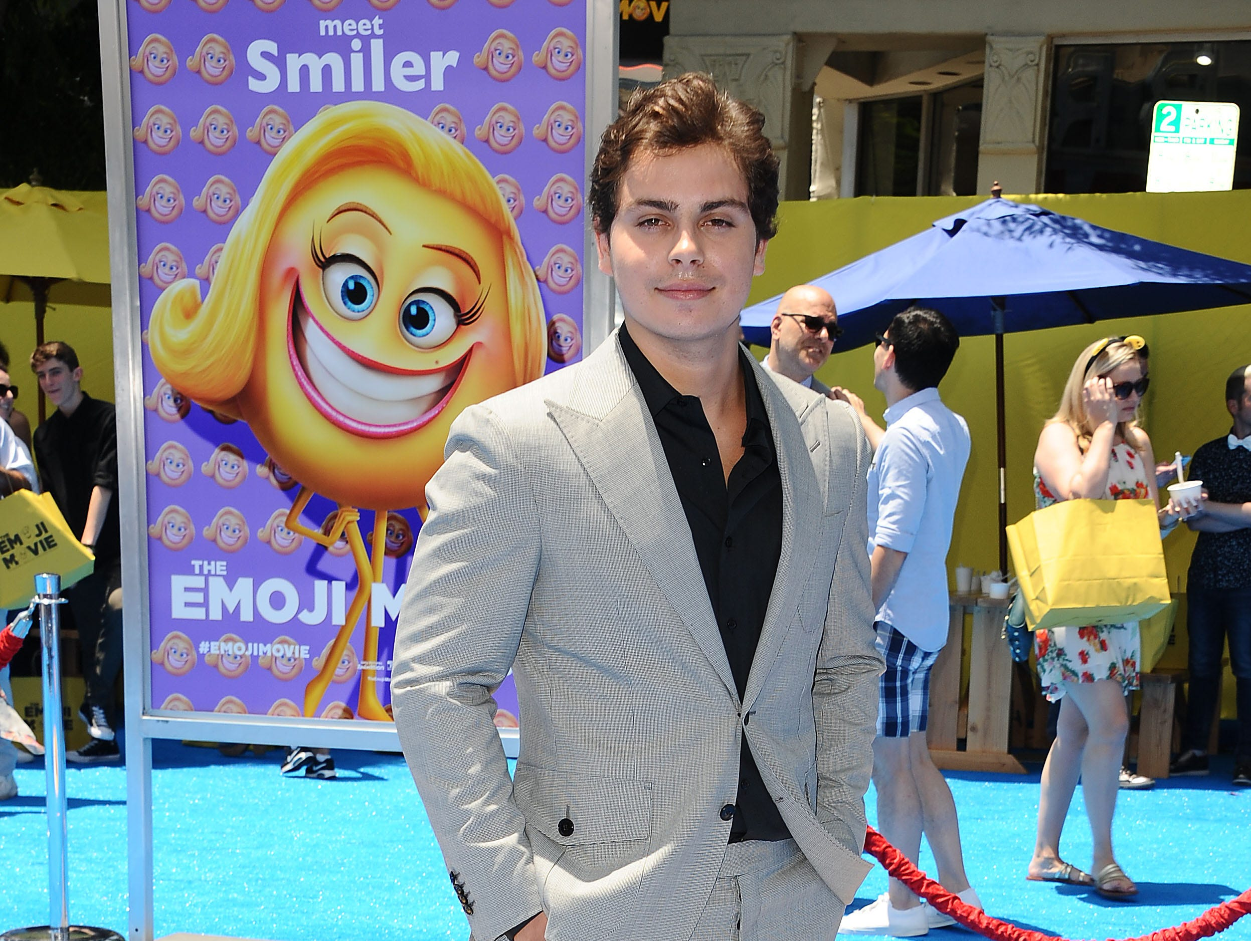 "WESTWOOD, CA - JULY 23:  Actor Jake T. Austin attends the premiere of ""The Emoji Movie"" at Regency Village Theatre on July 23, 2017 in Westwood, California.  (Photo by Jason LaVeris/FilmMagic) ORG XMIT: 775008128 ORIG FILE ID: 821366944"