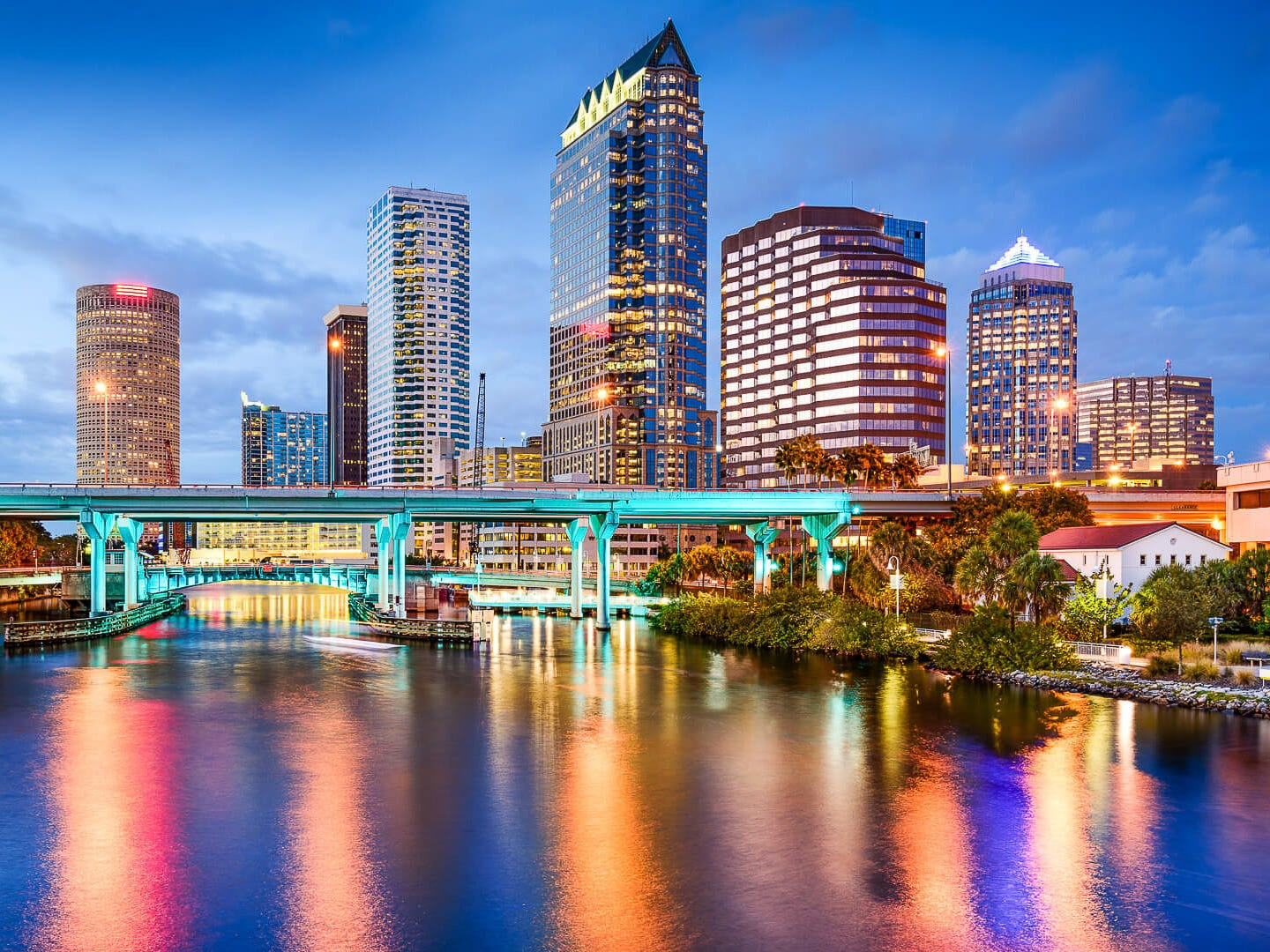 No. 15: 15. Tampa, Florida. Thanksgiving trip cost: $1,146. Christmas trip cost: $1,301.50. Escape to warmer weather with a relatively affordable holiday trip to Tampa. During Christmas, the average round-trip flight from Atlanta costs less than $200.