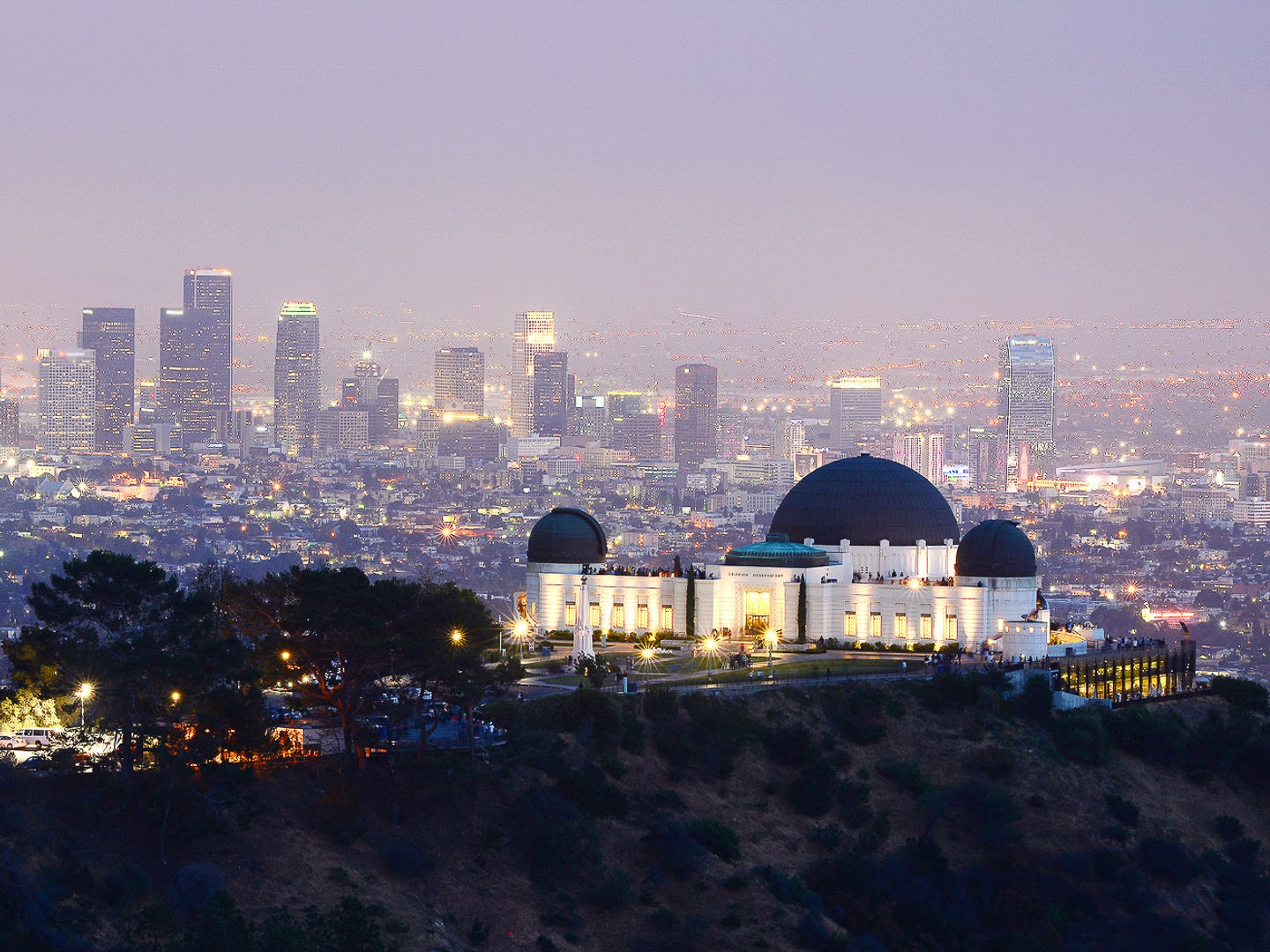 No. 7: Los Angeles. Thanksgiving trip cost: $1,435. Christmas trip cost: $1,452. Hotels in Los Angeles are expensive, especially during Thanksgiving, when the average hotel cost is the third-highest of all the cities in this ranking. But, you can save money on a trip to Los Angeles by visiting free famous landmarks, such as the Hollywood Walk of Fame, the Griffith Park Observatory, the Getty Center or Venice Beach.