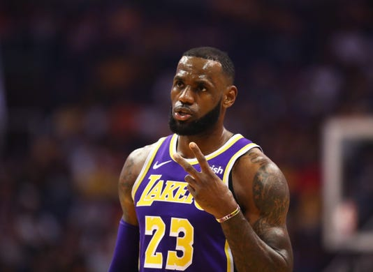 Usp Nba Los Angeles Lakers At Phoenix Suns S Bkn Phx Lal Usa Az