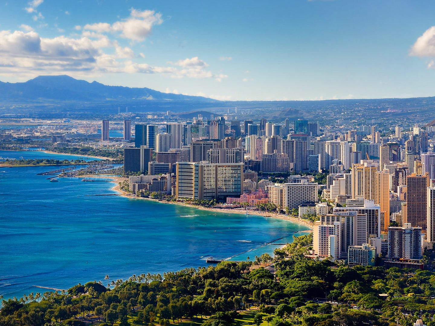 No. 1: Honolulu. Thanksgiving trip cost: $2,262.50. Christmas trip cost: $2,958.50. Winter in Honolulu is the peak tourist season, making it one of the least affordable places to visit during the holidays. During Thanksgiving, hotels are more expensive in Honolulu compared to any other destination included in this study — and, prices are the third-highest during Christmas. Round-trip flights are the most expensive overall during Thanksgiving, where the average cost is $1,076.50.