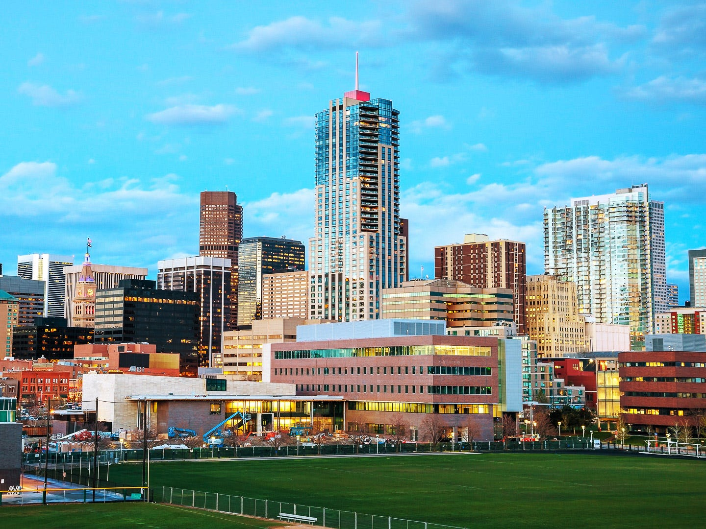 No. 10: Denver. Thanksgiving trip cost: $1,033.50. Christmas trip cost: $963. Although Denver is close to ski resorts, winter is the low season for tourism in the Mile High City. As a result, it's a good place for fairly cheap Christmas trips. Lodging in Denver is less expensive compared to costs in most of the U.S. destinations in this study. And, it's cheaper to fly from Atlanta or Los Angeles to Denver than it is to most other cities on GOBankingRates' list.