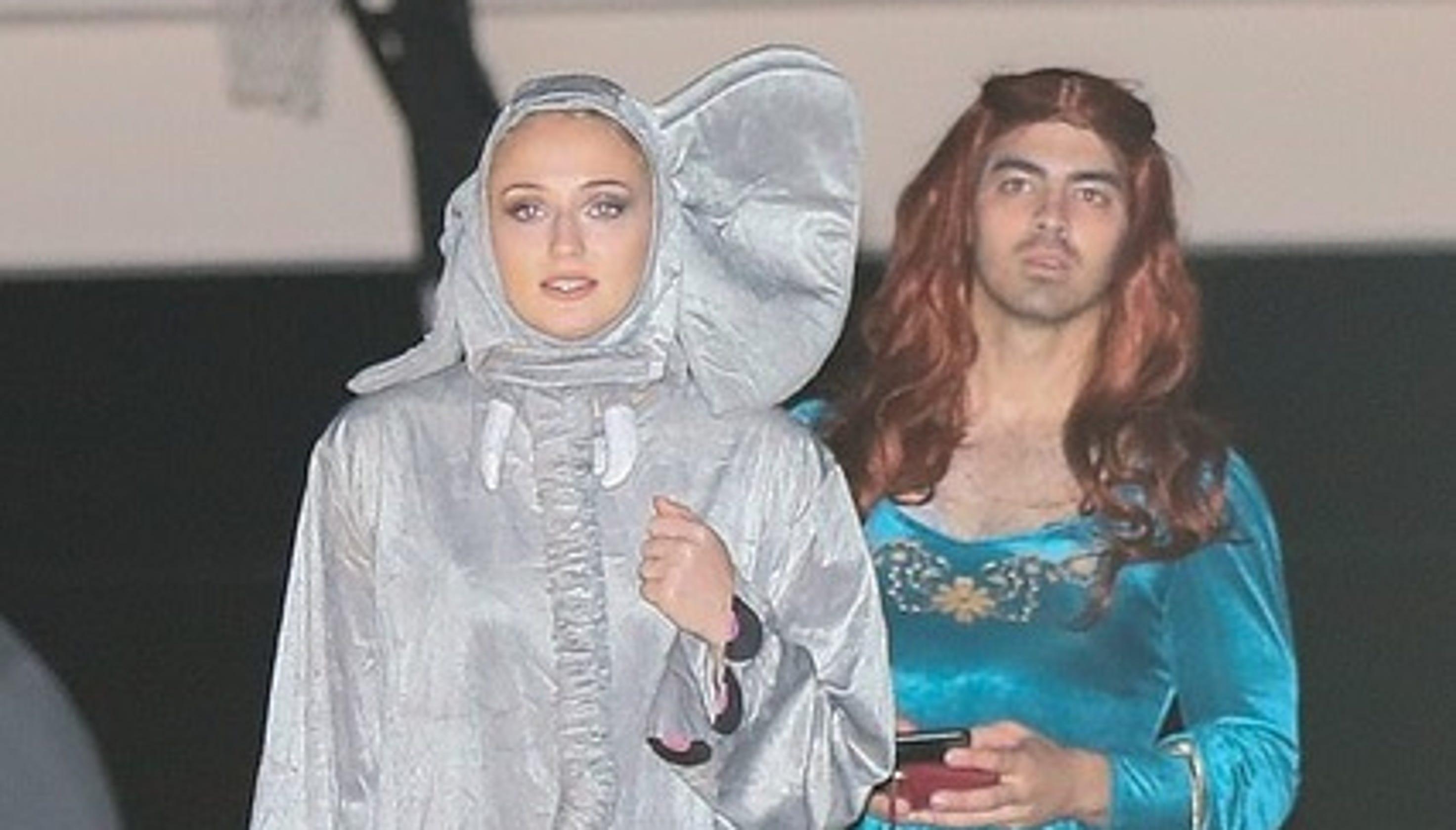 Joe Jonas Inspired By Sophie Turners Got Character For Halloween
