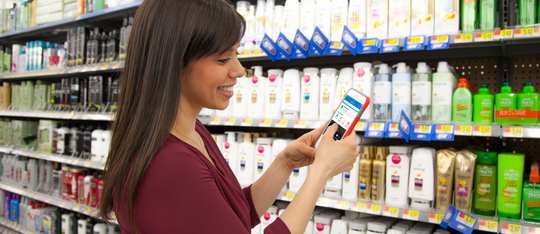 Walmart shoppers this holiday season can use the retailer's app to pinpoint the item they're looking for.
