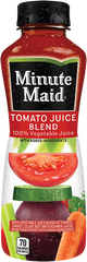 Minute Maid Tomato Juice Blend is the brand's first 100 percent vegetable blend, according to Coca-Cola.