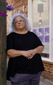 Susan Bro, mother of Heather Heyer, who was killed during the Unite the Right rally in Charlottesville in August 2017, visits her daughter's memorial regularly.