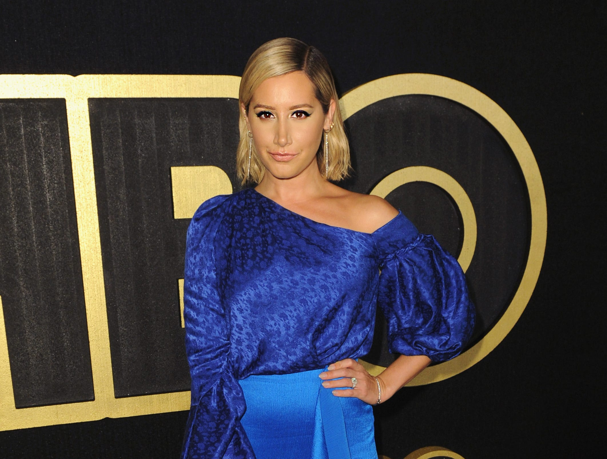 LOS ANGELES, CA - SEPTEMBER 17:  Ashley Tisdale arrives at HBO's Official 2018 Emmy After Party on September 17, 2018 in Los Angeles, California. (Photo by FilmMagic/FilmMagic for HBO ) ORG XMIT: 775224236 ORIG FILE ID: 1035321128