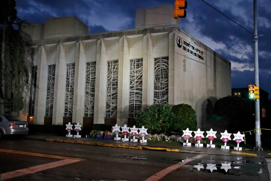 Ap Shooting Synagogue A Usa Pa