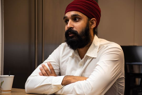 """""""Muslim in this country has become a bad word,"""" said Simran Jeet Singh, a senior religion fellow at the Sikh Coalition in New York. """"It has become wrong to associate with a particular religious tradition. ... A lot of this hate is rooted in ignorance because people are assuming that I'm Muslim when I'm not, just because of their sort of racial understanding of who I am based on my appearance."""""""