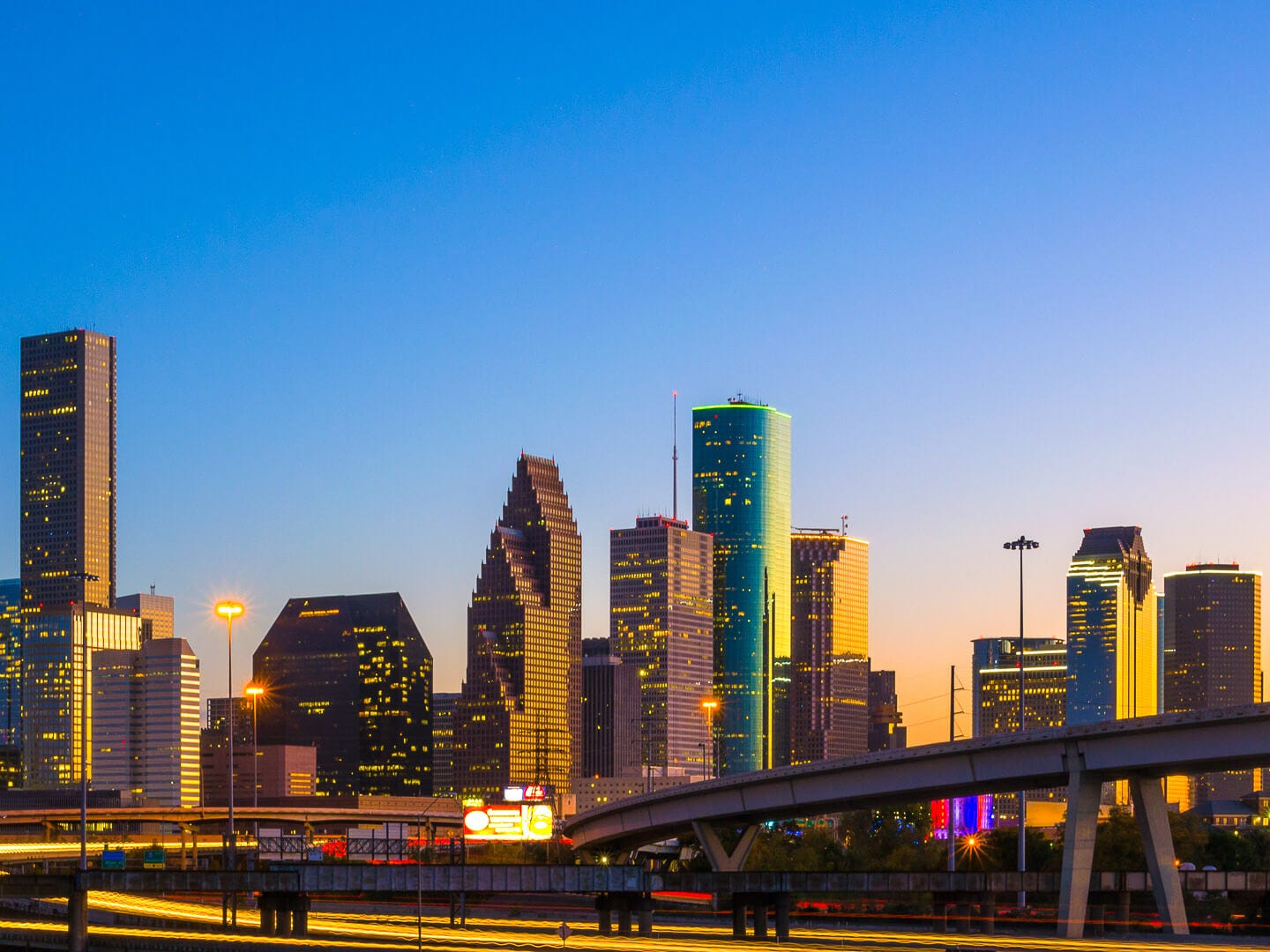 No. 3: Houston. Thanksgiving trip cost: $822.50. Christmas trip cost: $829.50. Hotels in Houston are especially affordable during both Thanksgiving and Christmas. It boasts the fourth-lowest average hotel costs of all the destinations in this ranking. It's also the second-cheapest place to fly to for Thanksgiving — with round-trip flights averaging $244.50 — and the fifth-cheapest place to fly to during Christmas, with round-trip flights averaging $265.50.