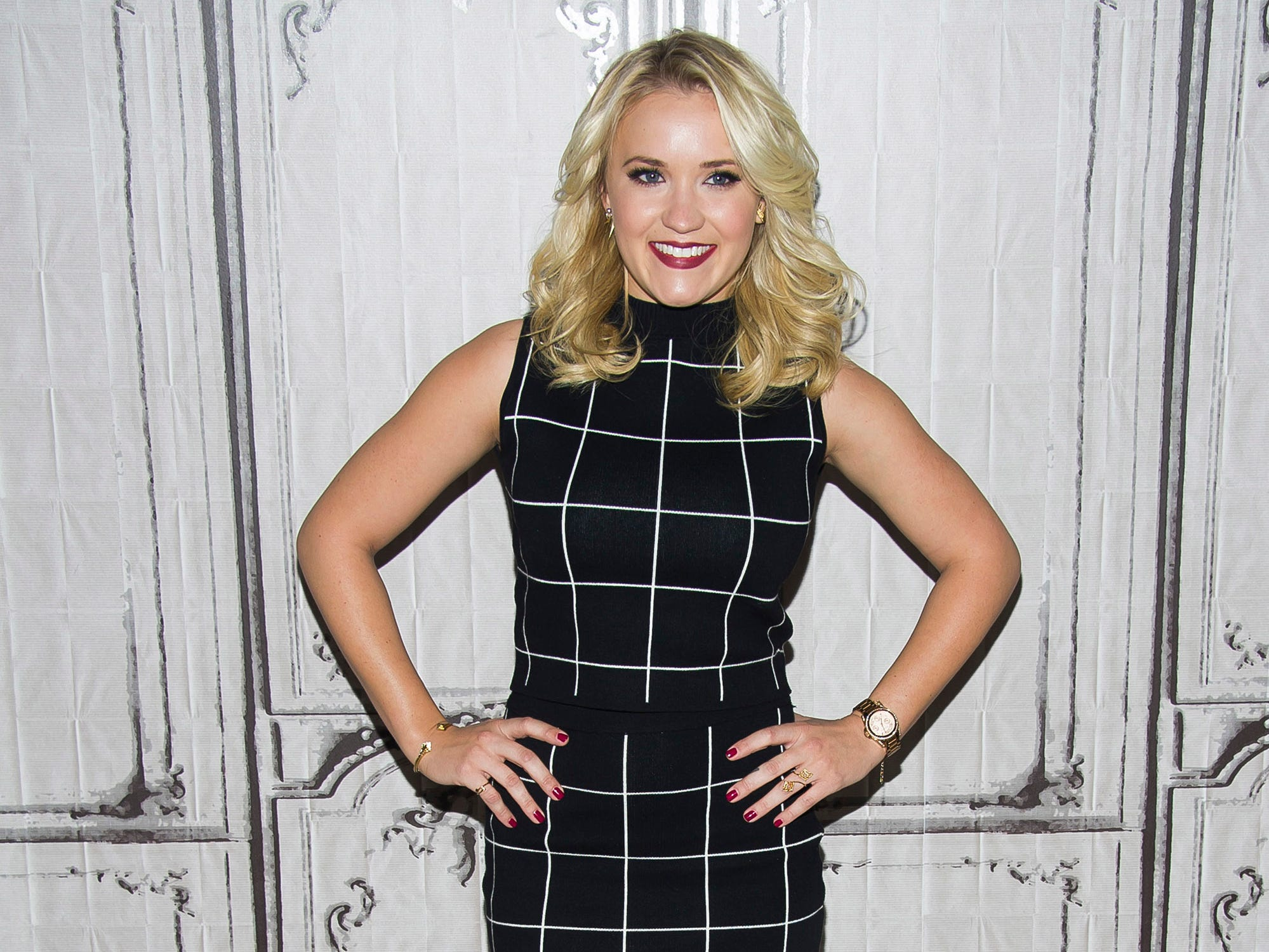 "Actress Emily Osment attends AOL's BUILD Speaker Series to discuss her ABC Family television show ""Young & Hungry"" at AOL Studios on Tuesday, March 24, 2015, in New York. (Photo by Charles Sykes/Invision/AP) ORG XMIT: NYCS101"