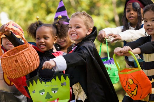 Trick-or-treaters can get a lot more than free candy this Halloween.
