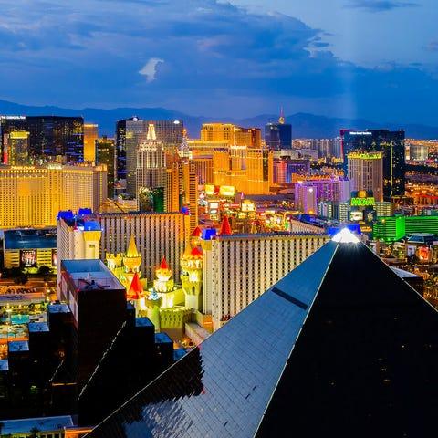 No. 1: Las Vegas. Thanksgiving trip cost: $502....