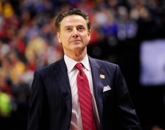 Former Louisville Cardinals head coach Rick Pitino
