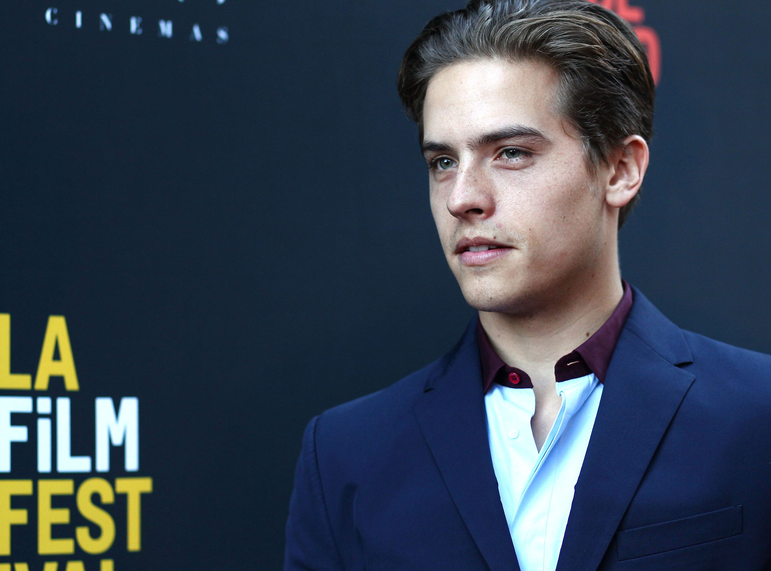 "CULVER CITY, CA - SEPTEMBER 22:  Actor Dylan Sprouse attends the ""BANANA SPLIT"" premiere at the Los Angeles Film Festival at ArcLight Culver City on September 22, 2018 in Culver City, California.  (Photo by Tommaso Boddi/Getty Images for American High) ORG XMIT: 775231903 ORIG FILE ID: 1038193444"
