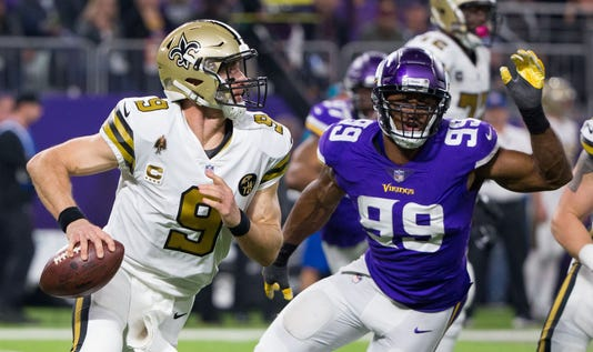 Nfl New Orleans Saints At Minnesota Vikings