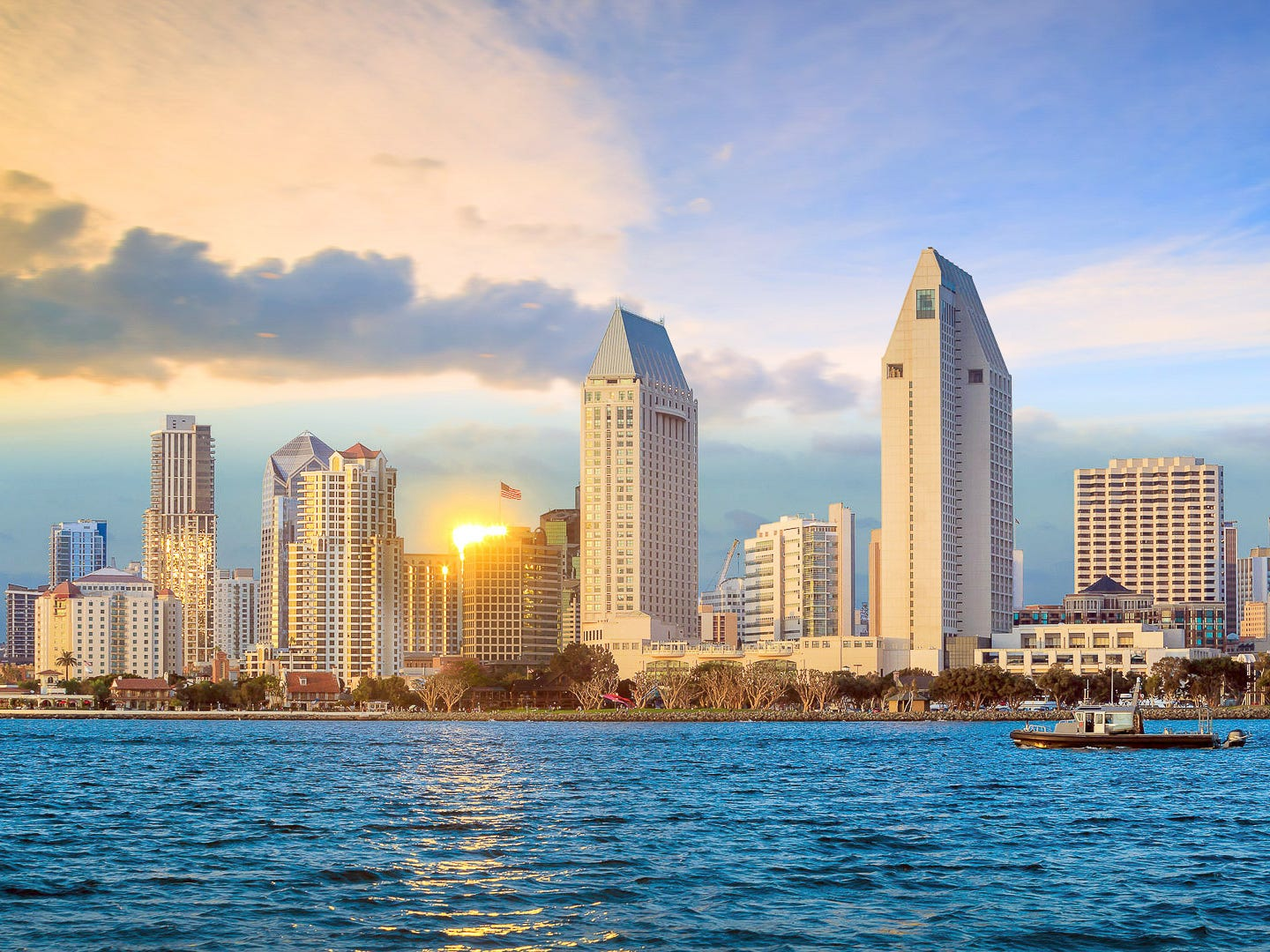 No. 8: San Diego. Thanksgiving trip cost: $943. Christmas trip cost: $957. Here's something to be thankful for: Hotel costs in San Diego are the fifth-lowest on average during Thanksgiving compared to the other cities in this ranking. Although it's an affordable place to vacation, San Diego is one of the worst places to live if you're trying to save money.