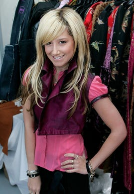 """Ashley Tisdale played Maddie Fitzpatrick on """"The Suite Life of Zack and Cody"""" before moving onto one of Disney's biggest movie hits: """"High School Musical,"""" where she played the over-the-top Broadway hopeful Sharpay Evans."""