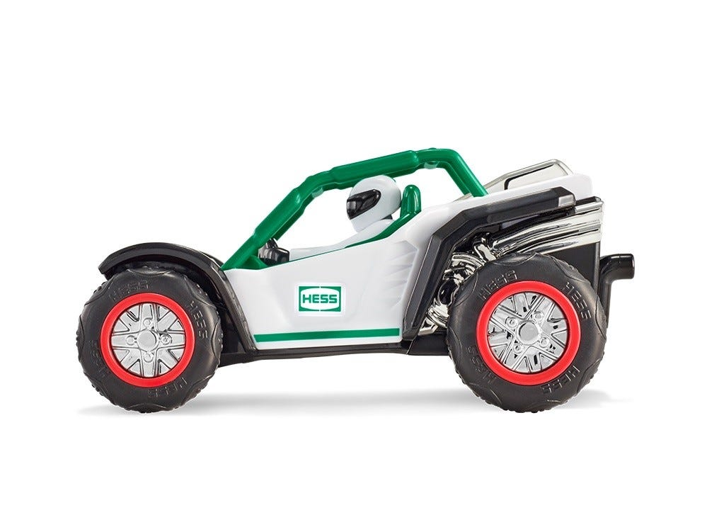 This is the ATV that comes with the 2018 Hess Holiday truck.