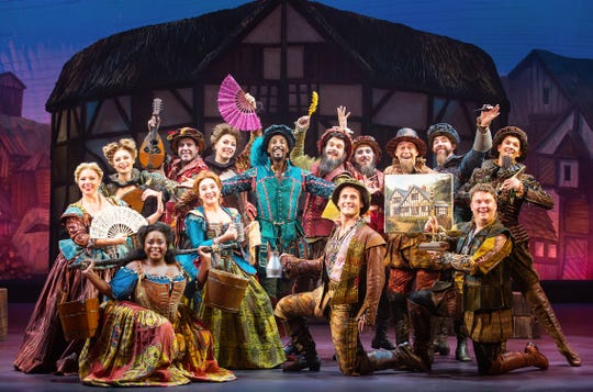 """The national tour of """"Something Rotten"""" comes to the Saengar Theatre on Monday."""