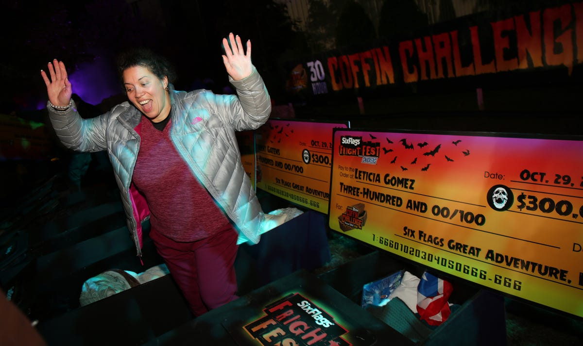 Six Flags Coffin Challenge back at Great Adventure Fright Fest