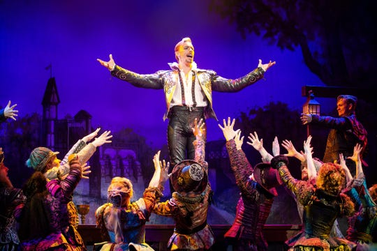 "The national tour of ""Something Rotten."""