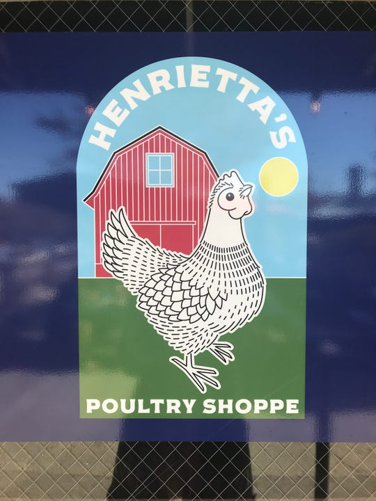 Henrietta's Poultry Shoppe is now open in the River Arts District.