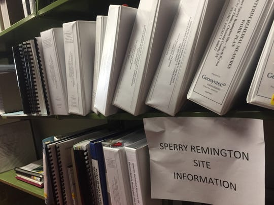 Volumes of technical data detailing pollution at Elmira High School are on file at the local library.