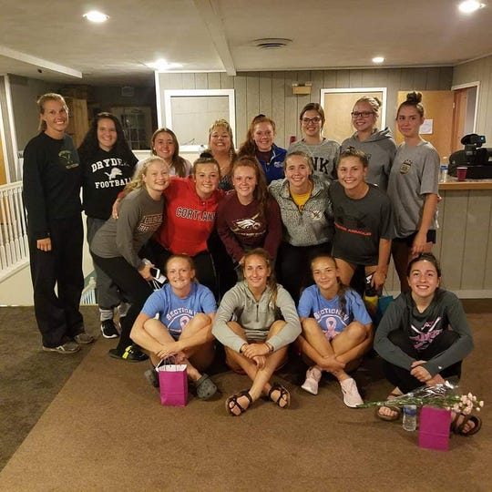 Whitney Point field hockey team's seniors were honored at a dinner by their moms.