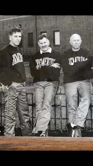 From left, Bob Battermann, Ted Berney and Dick Danubio