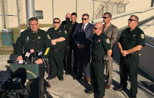 "Brevard Sheriff Wayne Ivey called the cannibalism case with suspect Alexander Barter ""one of the most sickening that I've ever experienced in my 39 years in law enforcement."""