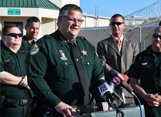 Brevard Sheriff Wayne Ivey.