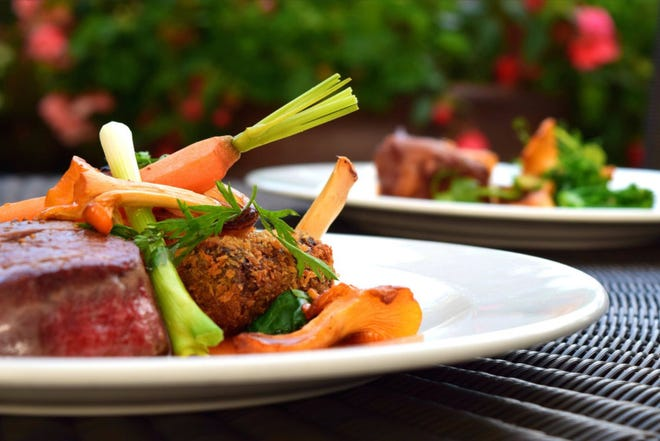 Filet of beef and lollipop lamb chops will be among the items on the menu for Forks & Corks II, benefiting the Brevard Symphony Orchestra.