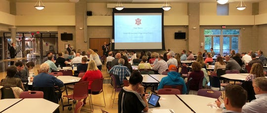 The Facilities Assessment Task Force was formed from Indian Hill residents during a community meeting held Sept. 24