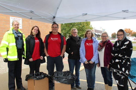 The 19th Judicial Drug Task Force in partnership with Allies for Substance Abuse Prevention hosted a Drug Take Back Day on Saturday.