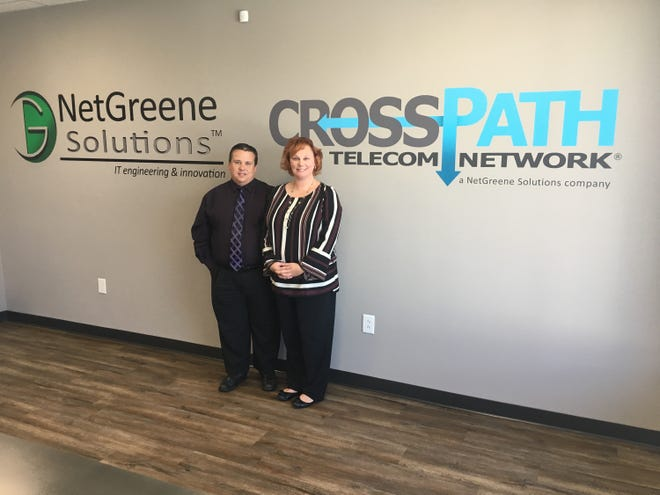 Scott and Leigh Ann Greene lead Clarksville's rapidly growing NetGreene Solutions.