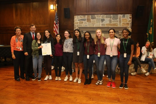 State of New Jersey honors Kent Place Ethics Bowl Team