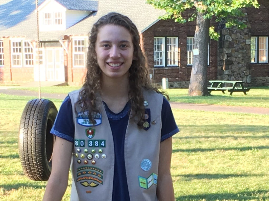 Shannon Powelson earns Girl Scout Gold Award