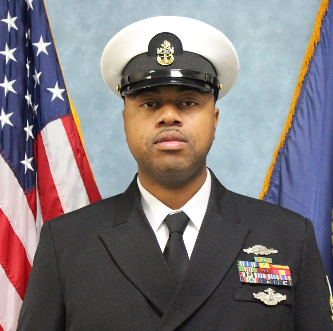 North Brunswick man serves aboard future Navy warship
