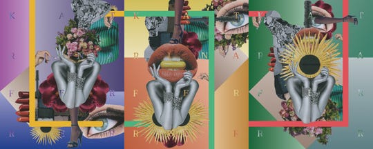 """Katrina Ferrer's digital collage """"Pain of Beauty"""" will be feautured in the 15th annual Raritan Valley Community College Art Students Juried Exhibitionfrom Nov.2 to 27."""