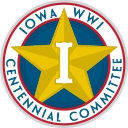 Iowa World War I Centennial Committee logo