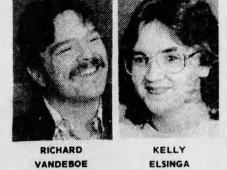 December 1988: Norwalk's Kelly Elsinga and fiance Richard VanDeBoe won a Lotto America prize worth $13.62 million.