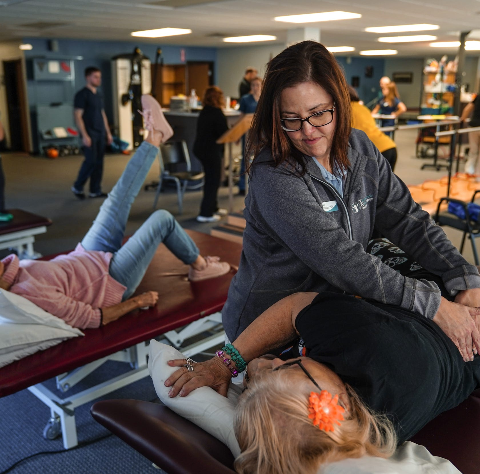 'Flexibility,' of course, is a key strength at Team Rehabilitation