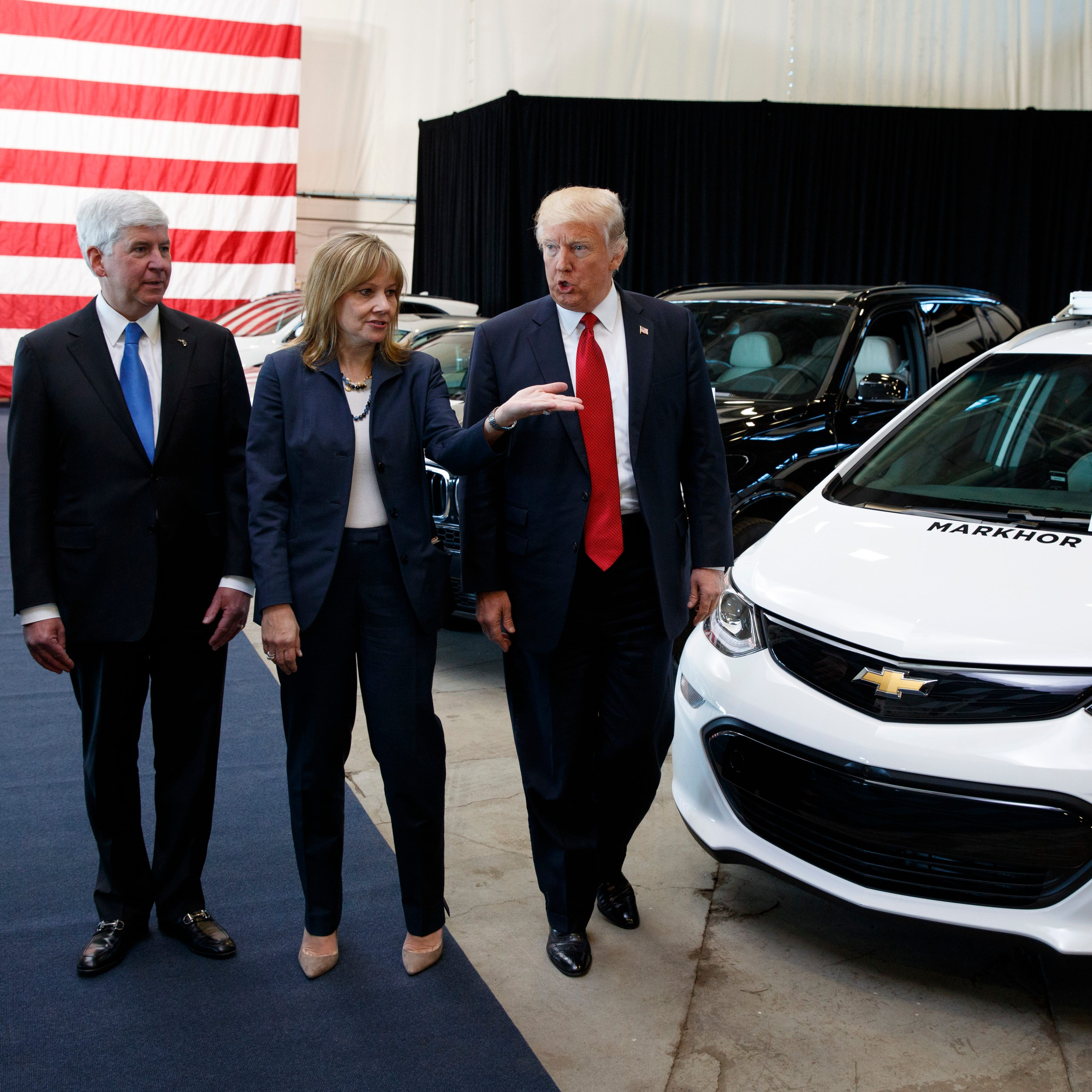 Trump: 'GM is not going to be treated well'