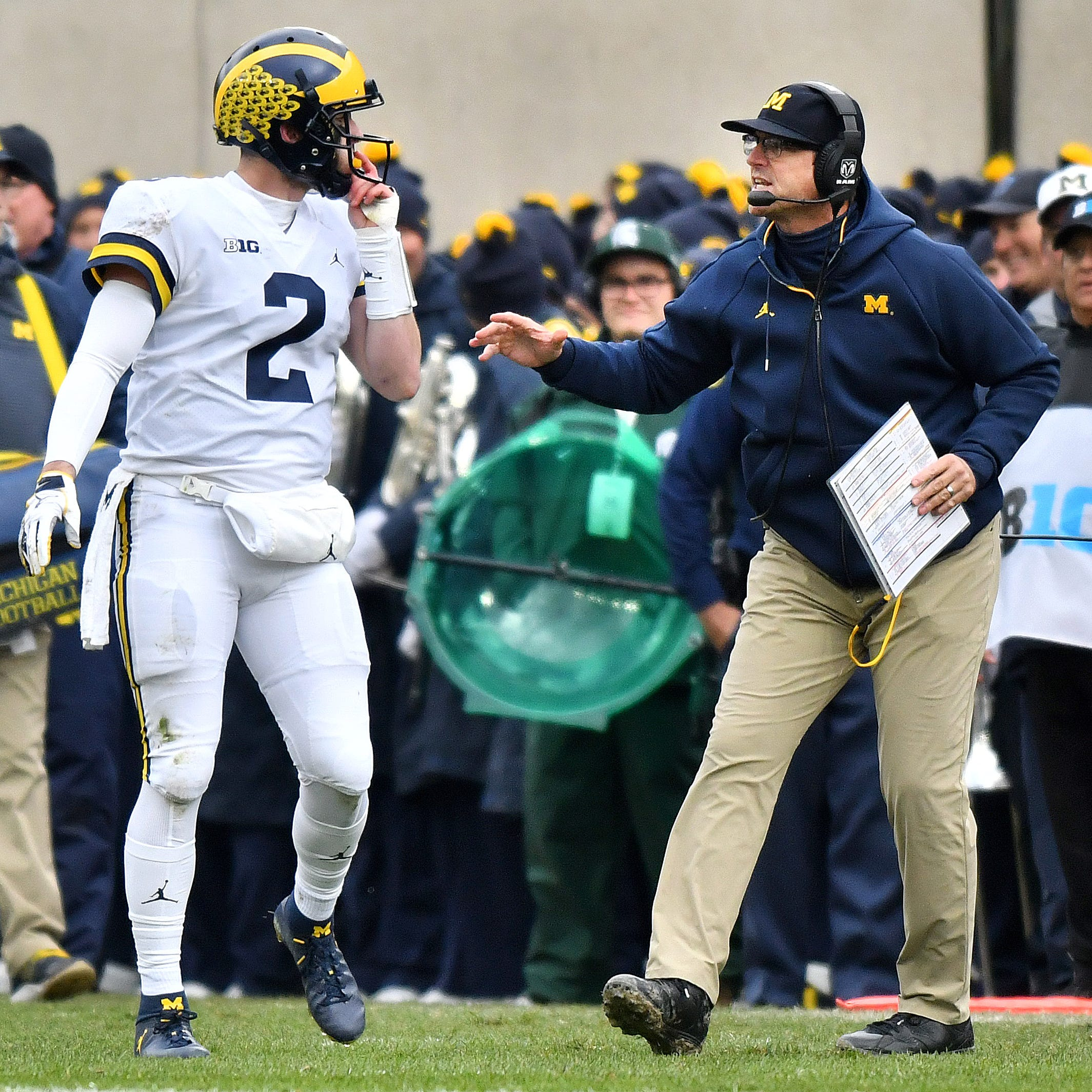 'Very strong resume': Michigan No. 5 in first CFP rankings