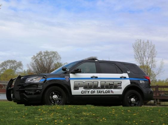 Taylor Police vehicle