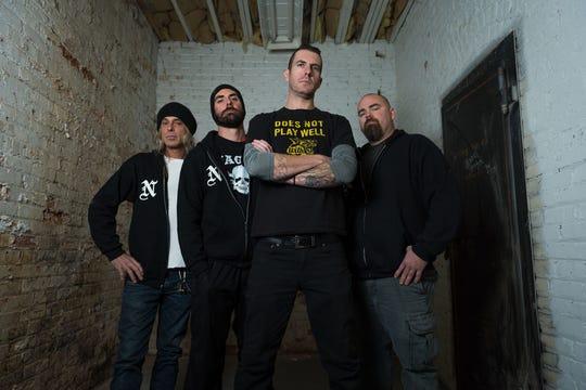 Michigan thrash metal band Nagazi