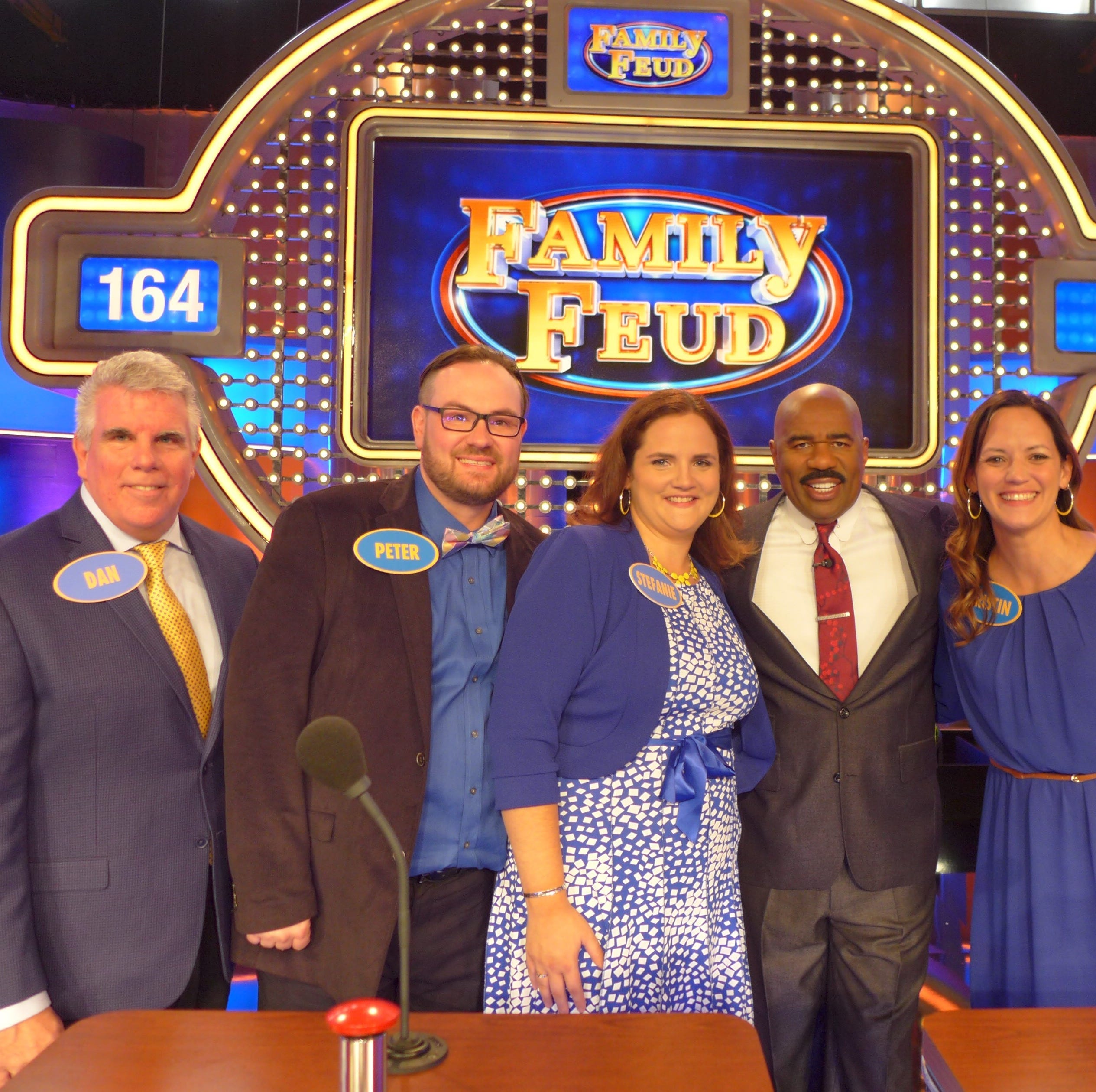 Peter Hernet of NEW Piano Guys and his Oshkosh family to appear on 'Family Feud'