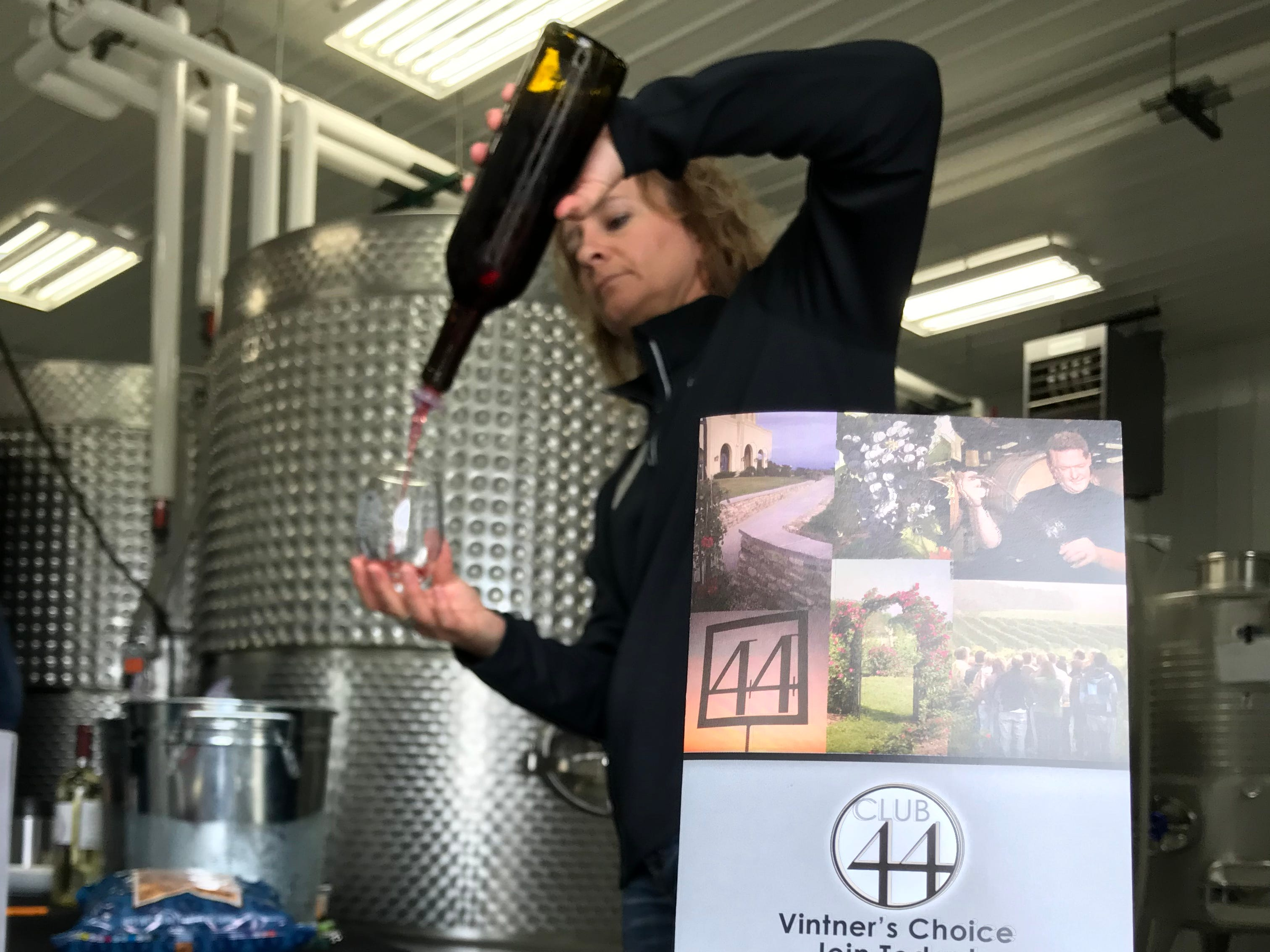 Be a VIP for a day at Parallel 44 Winery in Kewaunee