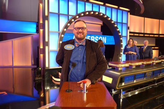 "Peter Hernet of Oshkosh, half of the dueling piano act NEW Piano Guys with Dan Rafferty of De Pere, flew to Los Angeles in April to play on ""Family Feud."""